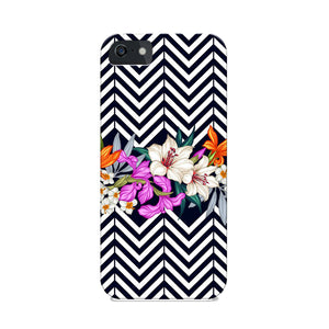 Floral Chevron Phone Cover