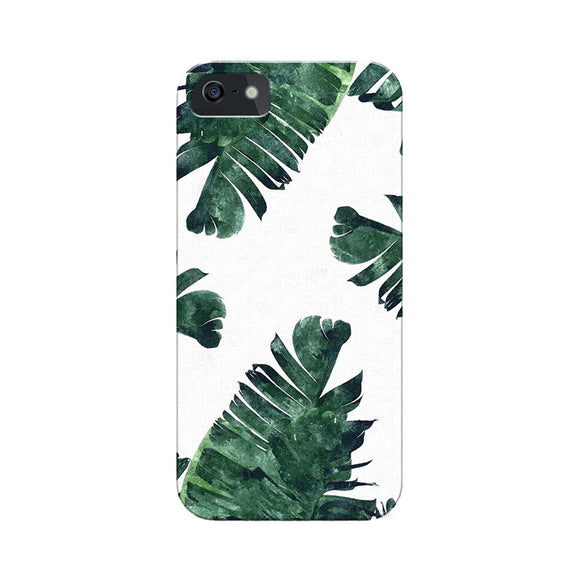 White Tropical Phone Cover