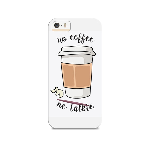 Coffee First Phone Cover