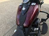 Softail Slim - Black Mustang Seat Matching (wide style)