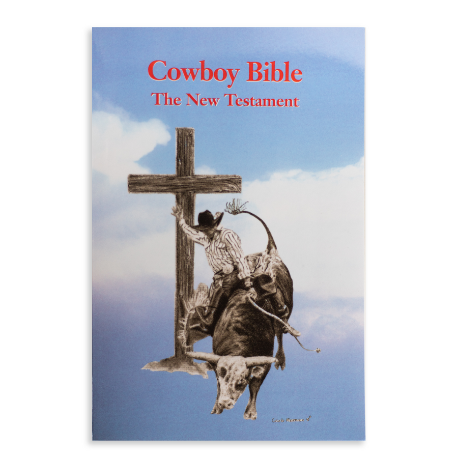 Lane Frost Cowboy Bible-Case