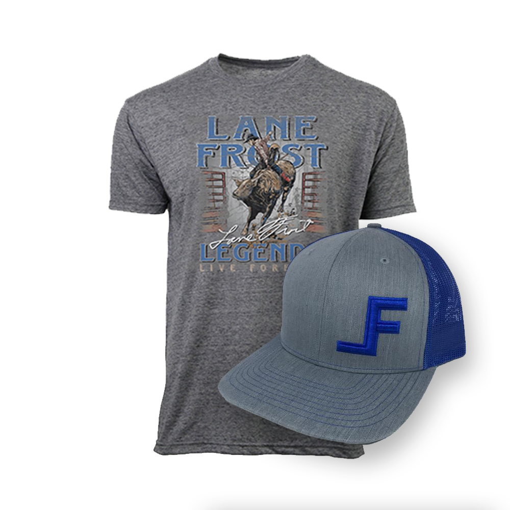 Frosty Hat and Challenge Tee Discounted Bundle