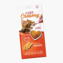 Load image into Gallery viewer, Catit Creamy Cat Treats – Chicken 4 pack
