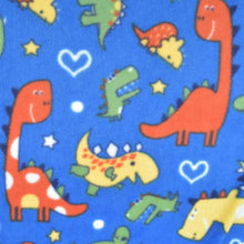 Load image into Gallery viewer, Custom size Dinosaur fleece cage liners made to measure