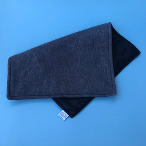 Fleece potty pad. Absorbent and waterproof lined wee mat. Reusable fleece mat.