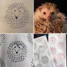 Load image into Gallery viewer, The Hoghouse snuggle sack. Sleeping bag for hedgehog, guinea pigs and small animals. Fleece lined.