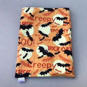 Creepy Halloween snuggle sack. Hedgehog sleeping bag. Cuddle pouch.