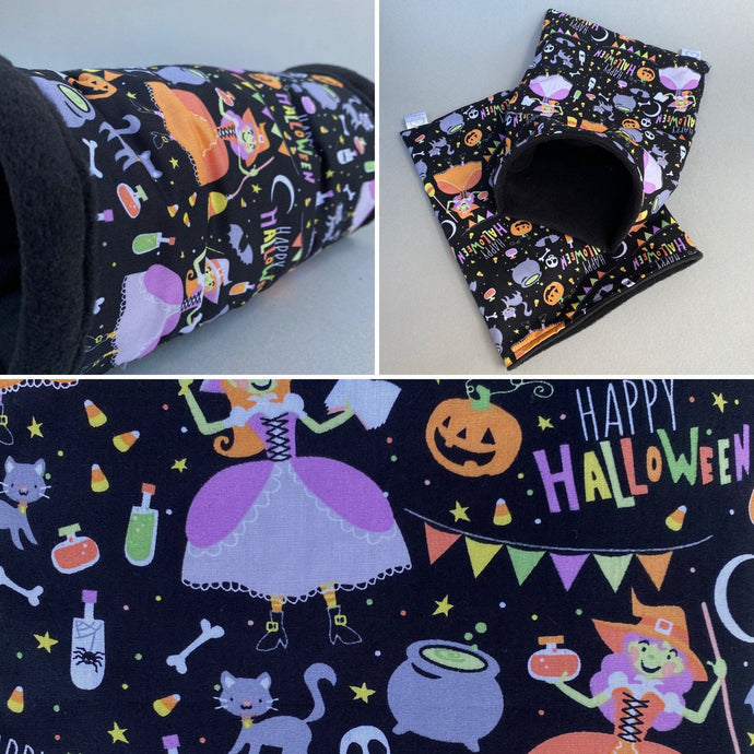 Happy Halloween mini set. Tunnel, snuggle sack and toys.