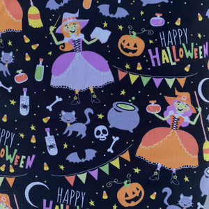 Happy Halloween miniature bunting. Viv decorations. Cage decorations.