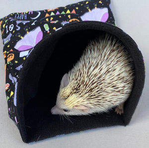 Happy Halloween snuggle sack, snuggle pouch, sleeping bag for hedgehogs