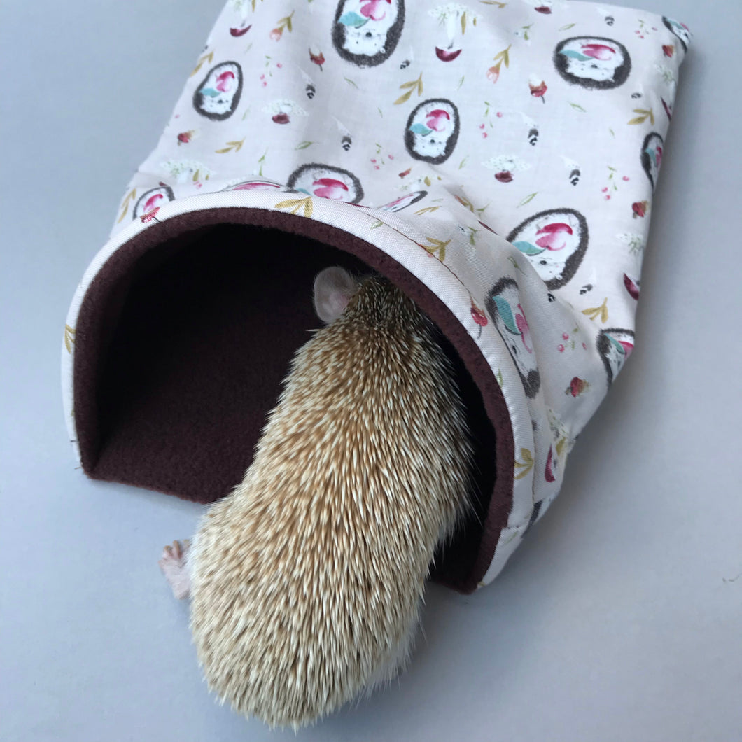 hedgehog sleeping bag