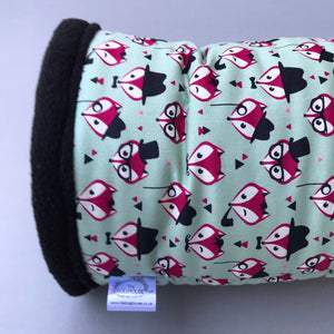 Dapper Mr Fox full cage set. Cube house, snuggle sack, tunnel cage set.