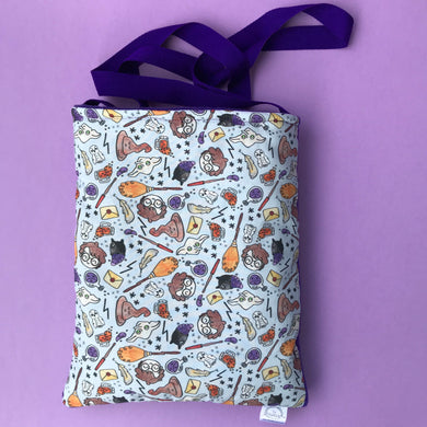 Magical Wizard padded bonding bag, carry bag for hedgehogs. Fleece lined.