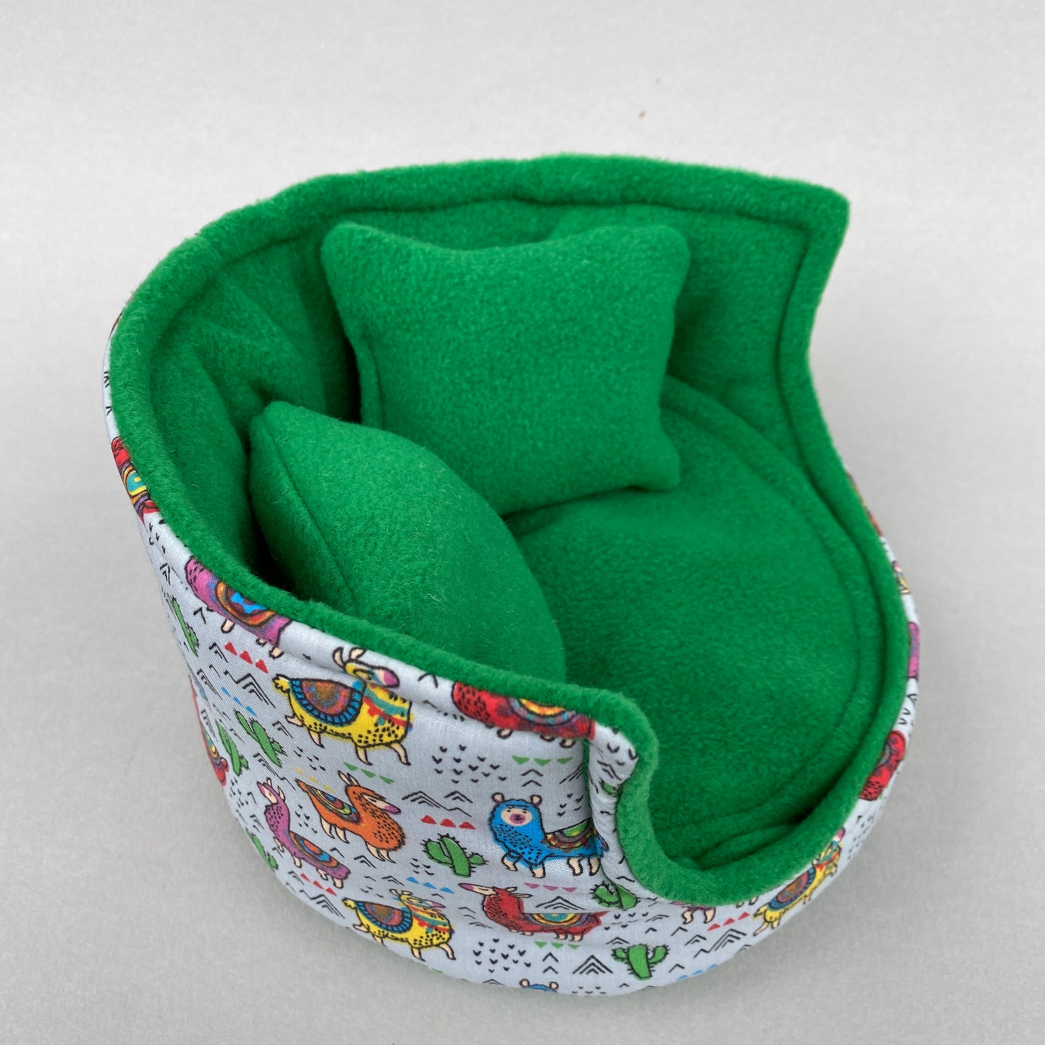 Drama Llama Cuddle Cup Pet Sofa Hedgehog And Small Guinea Pig Bed S The Hoghouse