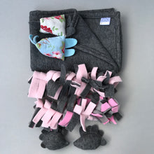 Load image into Gallery viewer, TOY BUNDLE #2: Blanket and toys set for hedgehogs. Set of 6 toys and handling blanket.