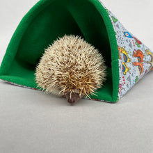 Load image into Gallery viewer, LARGE Drama Llama snuggle sack. Cuddle pouch for hedgehogs and guinea pigs.