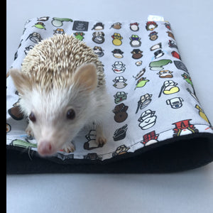 Far Away Galaxy hedgehog mini set. Tunnel, snuggle sack and toys.