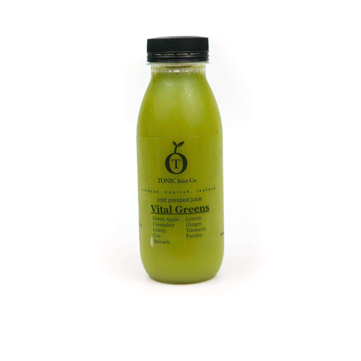 Fresh Meals 2 U Brekkie & Snacks Vital Greens 300ml Cold Pressed Juice