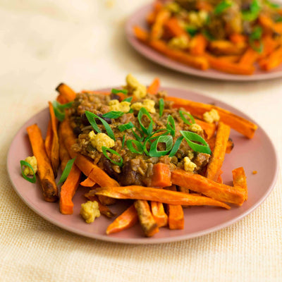 Fresh Sprout Meals Lunch & Dinner Sweet Potato Loaded Fries