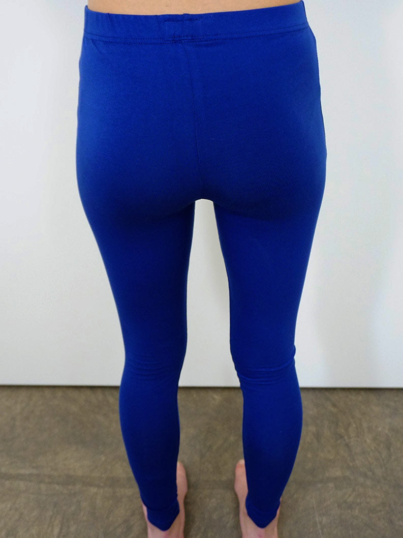 bfair bequeme Leggings Blau