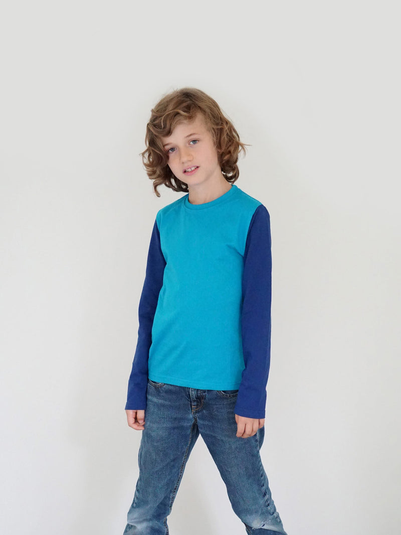 bfair Kinder Bio-Langarmshirt Barrierriff