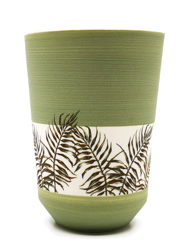 "Keramik-Tasse ""alma art jungle"""