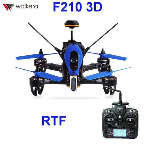 (In stock) Original Walkera F210 3D With Devo 7 transmitter  racing Drone quadcopter with OSD / 700TVL Camera RTF