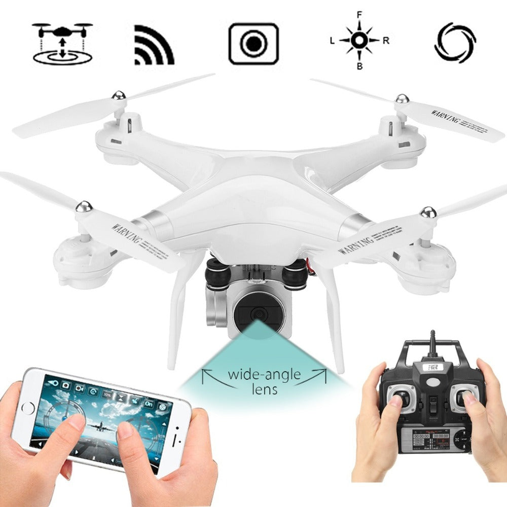 SH5W RC Helicopter Drone with Camera HD 200W WIFI FPV Selfie Drone Professional RC Helicopter Remote Control Toys Multicolor