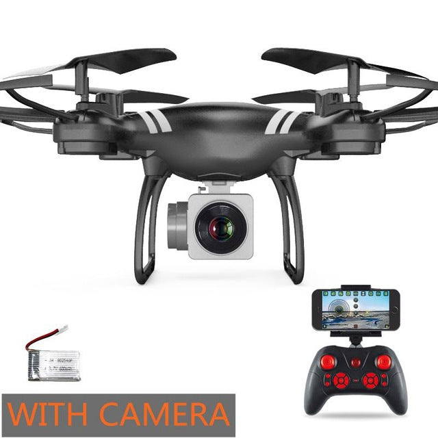 Selfie Drone With Camera Drone WIFI FPV Quadcopter Mini RC Helicopter One Key Return Copter Children Quadrocopter Toys VS x5sw