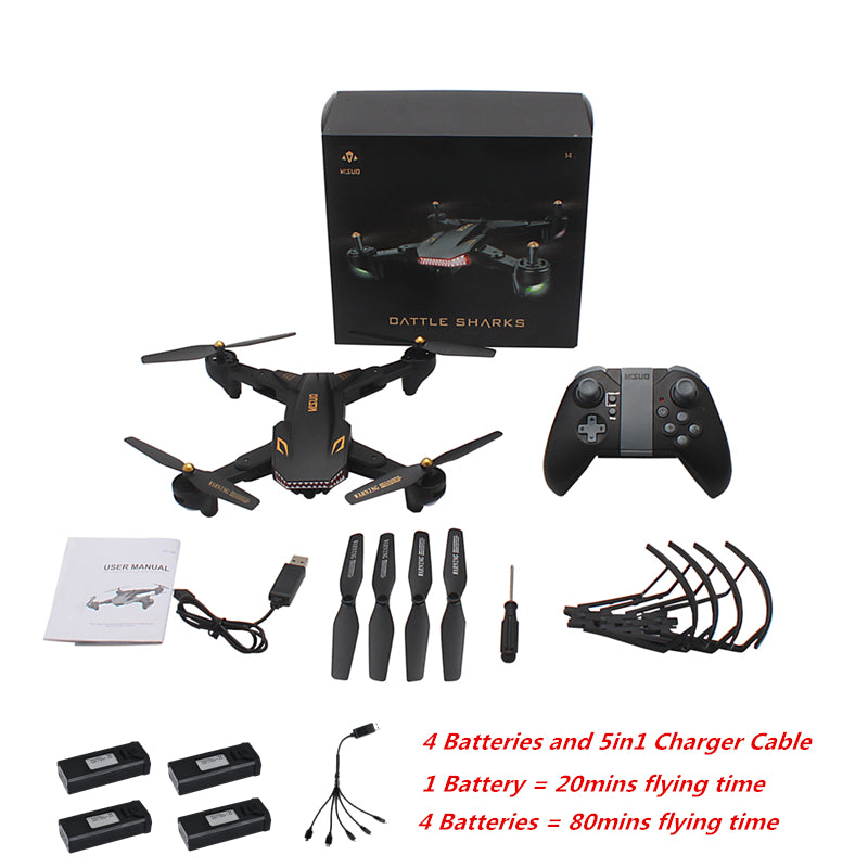 VISUO XS809S Foldable Selfie Drone with Camera  FPV Drones with Camera HD XS809HW Upgraded Dron RC Quadcopter Helicopter VS E58