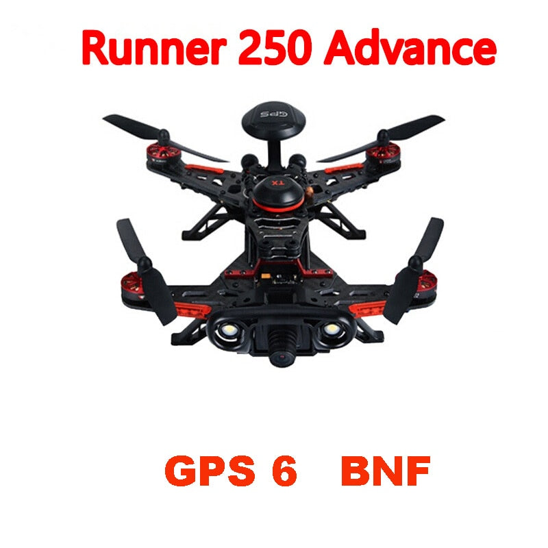 Walkera Runner 250 Advance BNF without Transmitter with 1080P Camera / GPS/ OSD RC Racer Drone Quadcopter  GPS 6 Version