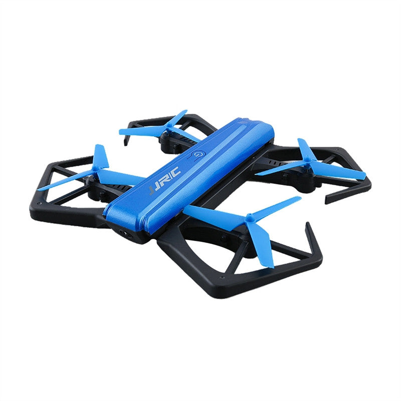 JJRC H43WH One-Key Folded In Half Foldable Mini RC Drone Selfie Drone Quadcopter 720P Camera WiFi FPV APP Control Altitude Hold Headless Mode 3D Rollover Flips