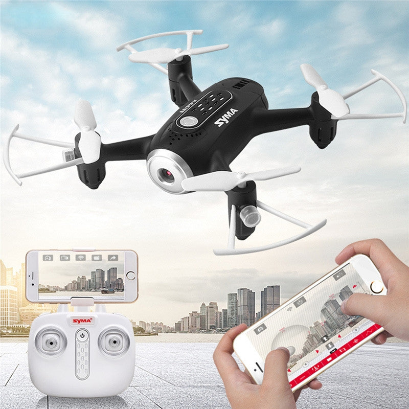 X22W RC Quadcopter Portable RC Drone with HD WIFI Camera FPV 4CH Headless Mode