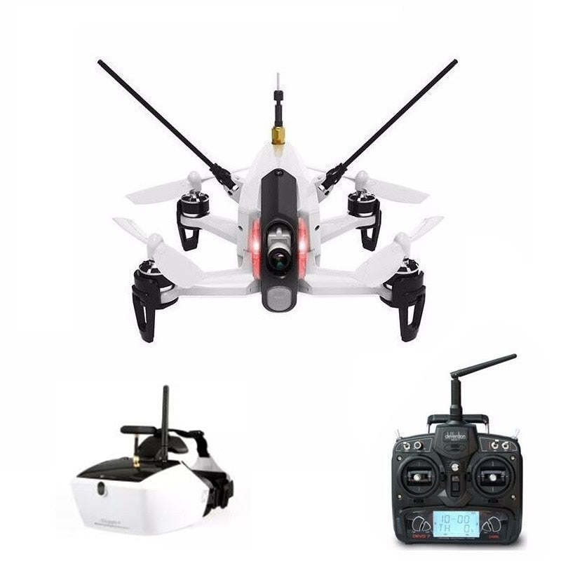 Original Walkera Rodeo 150 with DEVO 7 transmitter  Racing Drone with 600TVL Camera & GOGGLE 4 FPV Glasses RTF
