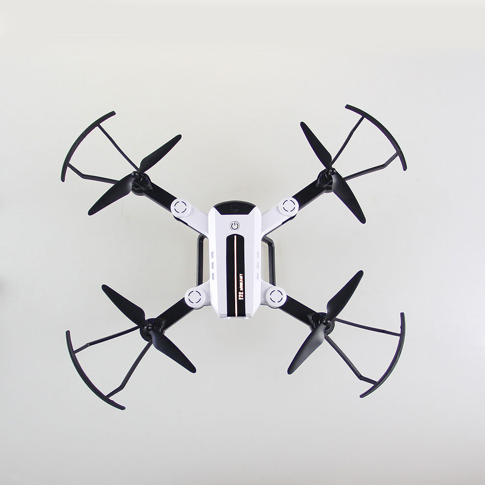 Drone Quadcopter Durable APP Remote One Key Landing UAV Aircraft 720p Programmable LED Lighting Altitude Hold