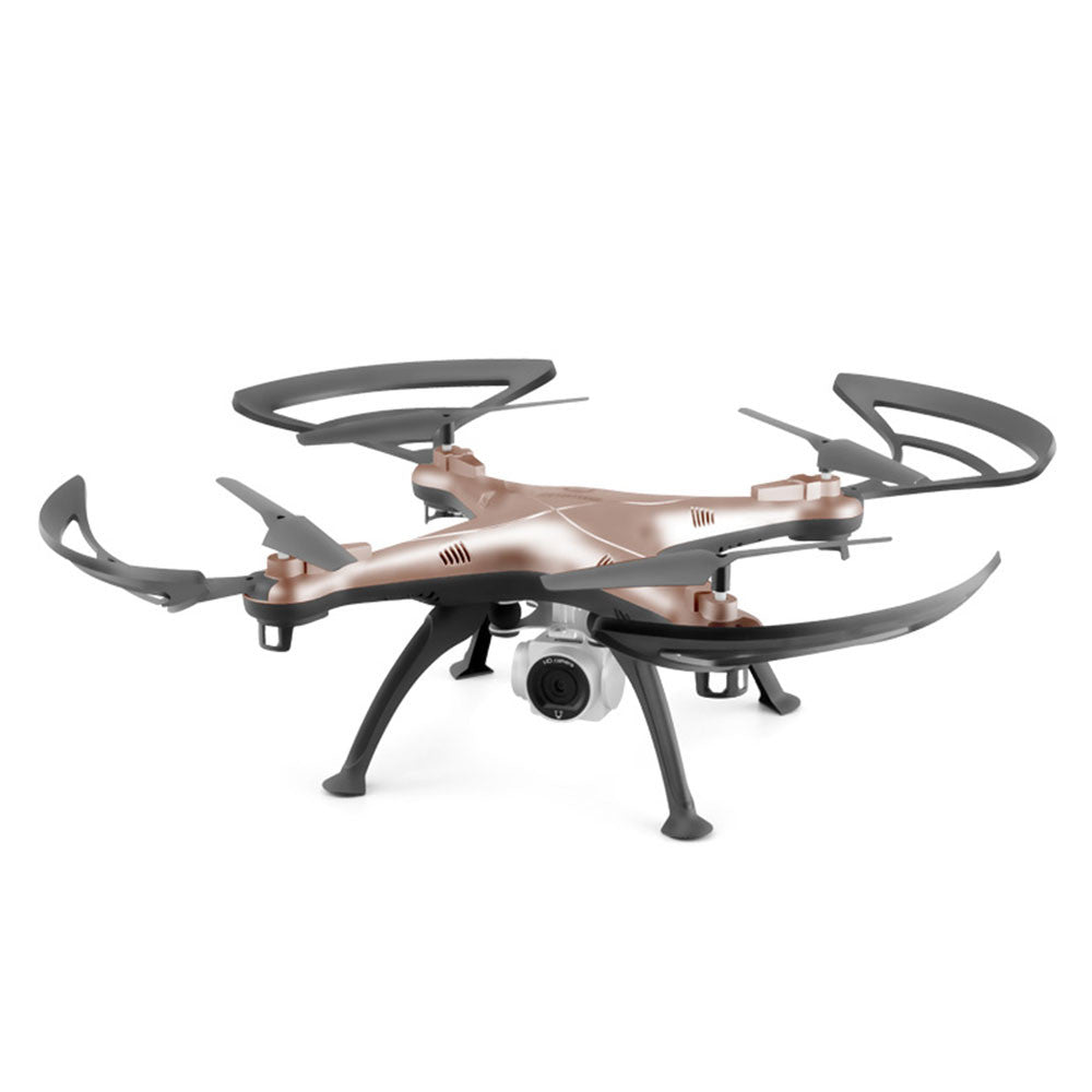 Drone UAV Durable Speed Adjustable USB Charge Aircraft Quadcopter HD Camera 4CH 3D Flips One Key Take Off