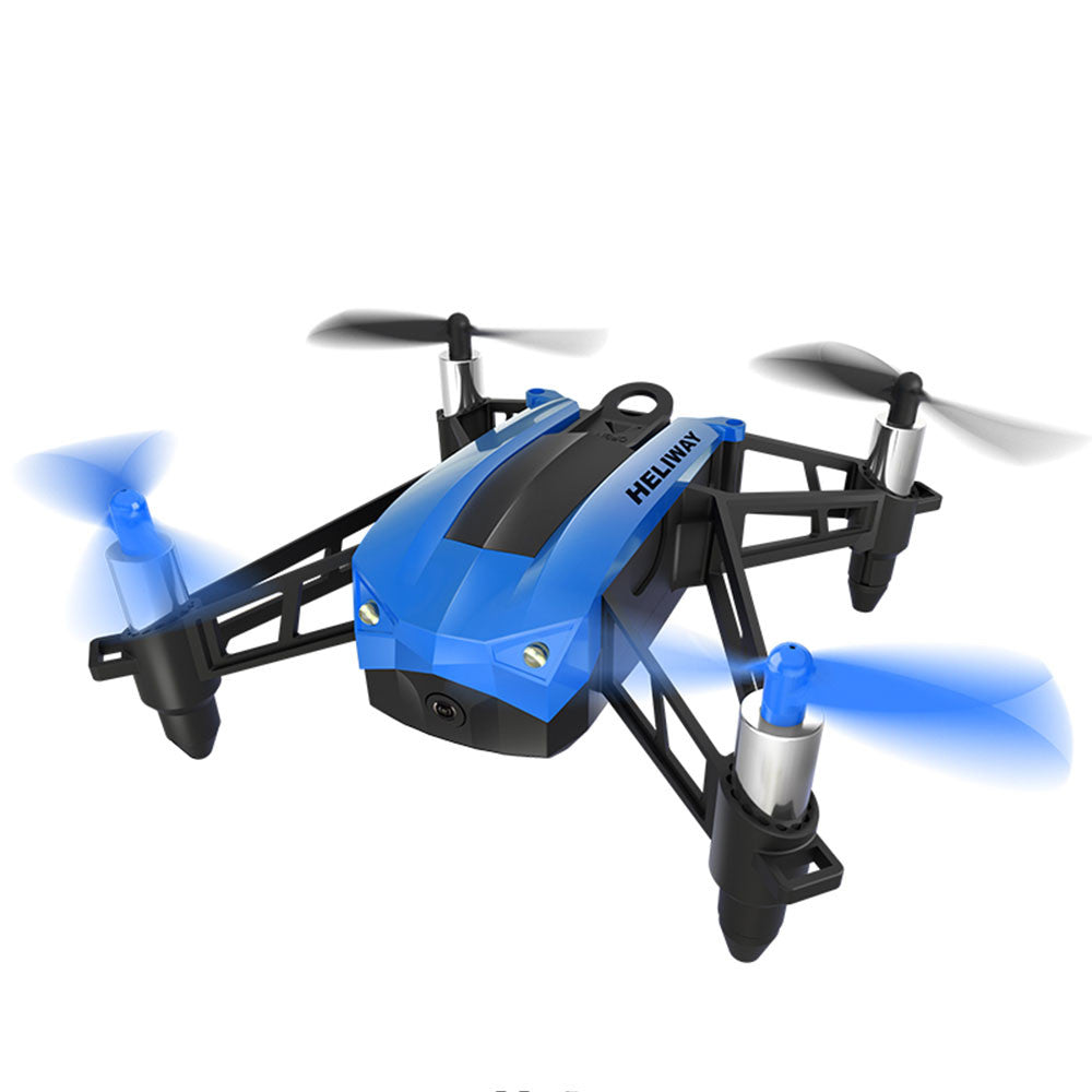 Quadcopter Aircraft Mini LED Lighting Wireless UAV Drone 2.4GHz 4 Channel 360 Degree Rolling FPV