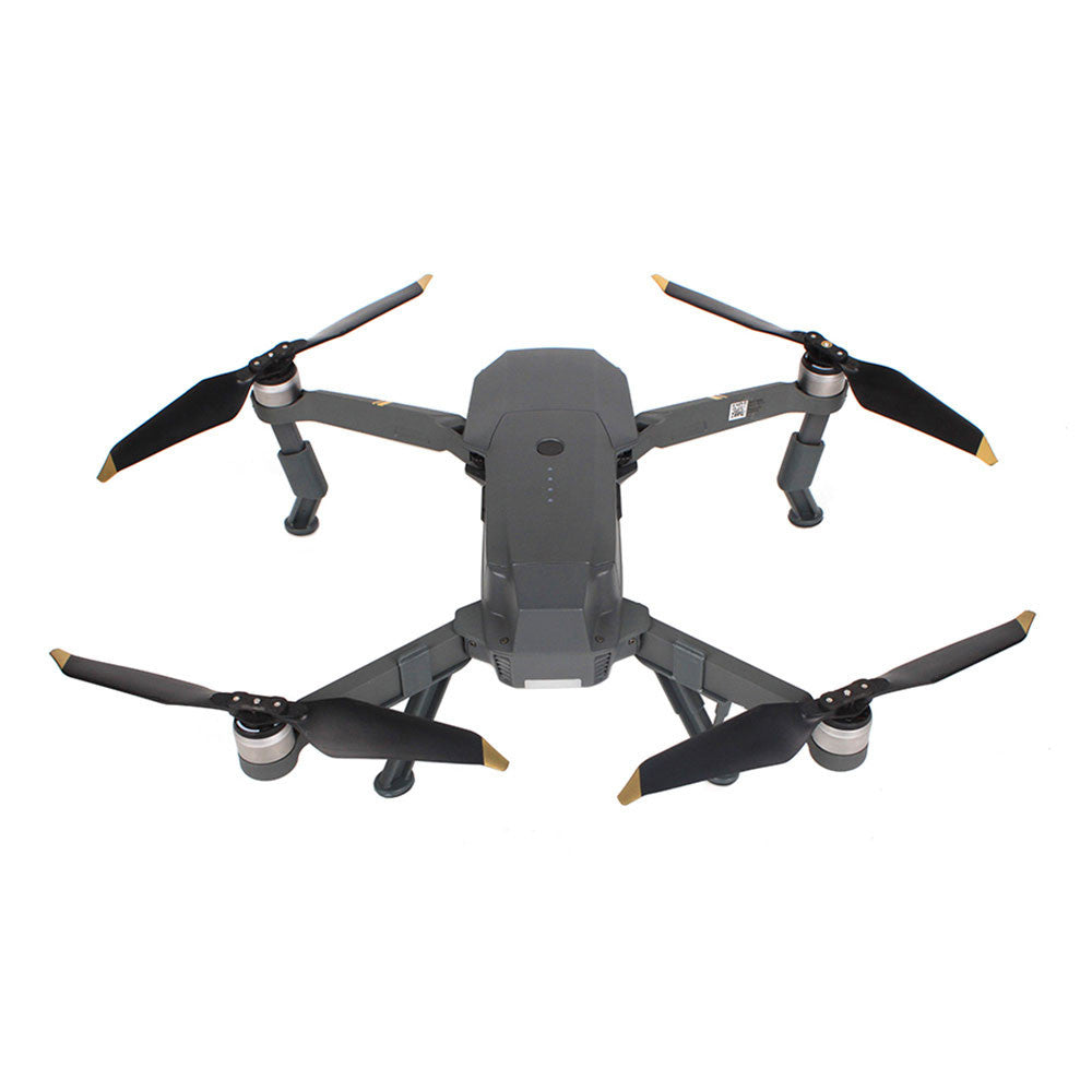 Quadcopter Leg Holder Drone Tripod Rack Practical Leg Increase Protection Drone Landing Gear Helicopter Leg Bracket ABS Gray