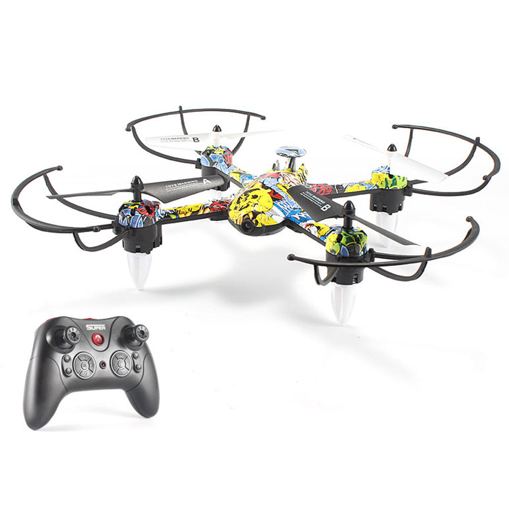 UAV Quadcopter Intelligent One Key Landing 3D Flip Drone Aircraft 2.4GHz 4 Channel Flying Speed Adjustable