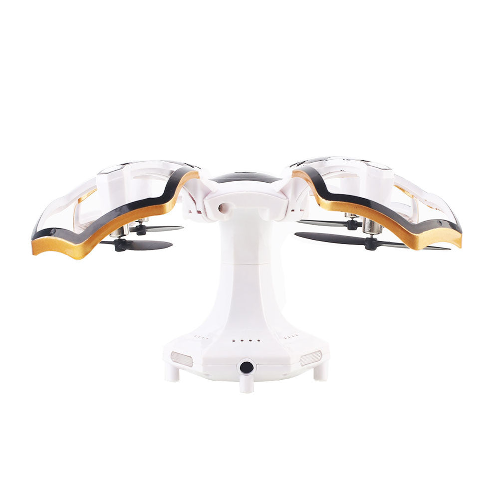Quadcopter UAV Powerful Wireless One Key Landing Drone Aircraft 2.4GHz 4 Channel One Key Take Off Altitude Hold