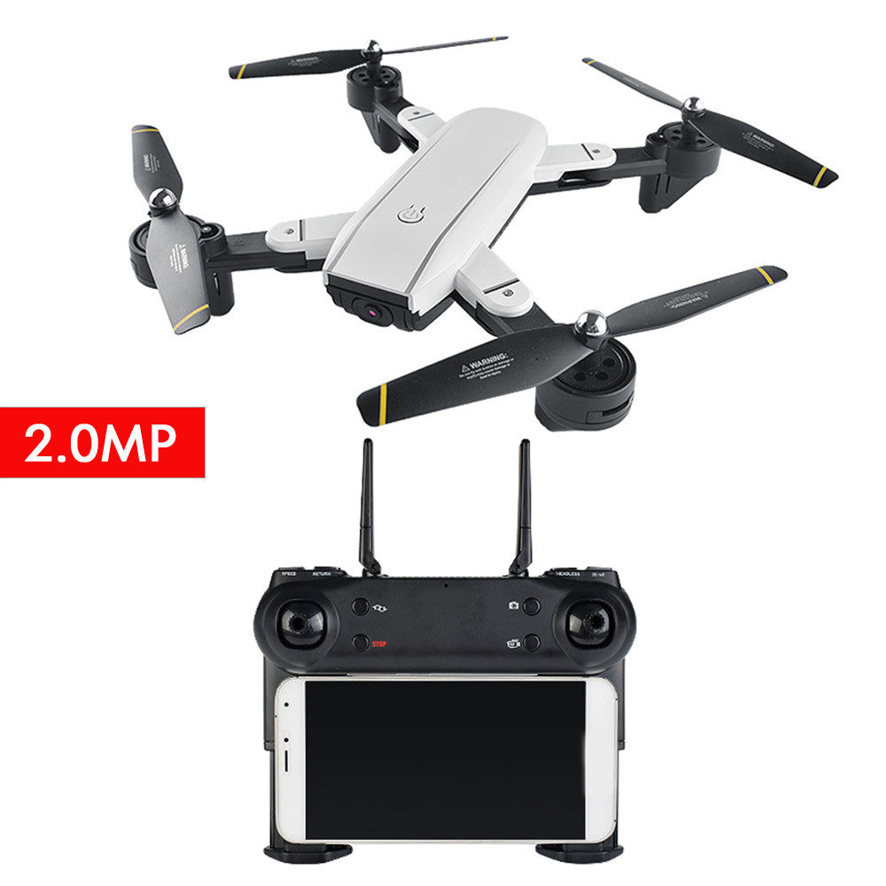 UAV Aircraft Durable Wireless WiFi FPV Real-Time Drone Quadcopter HD Camera FPV USB Charge App Control