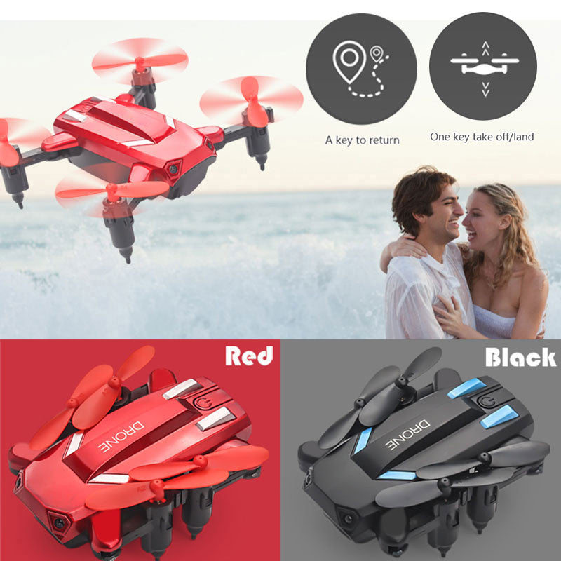 Drone Aircraft Durable Altitude Hold LED Lighting Quadcopter Mini 2.4GHz 360degree Rolling USB Charge