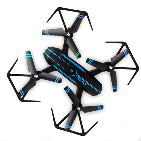 Drone Aircraft Foldable One Key Take Off Wireless Quadcopter UAV 480p 8809 FPV APP Remote
