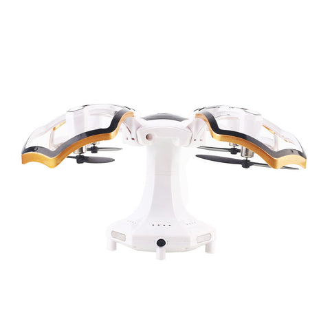 Aircraft UAV Spherical One Key Landing APP Remote Quadcopter Drone 0.3MP CG030 Altitude Hold One Key Take Off