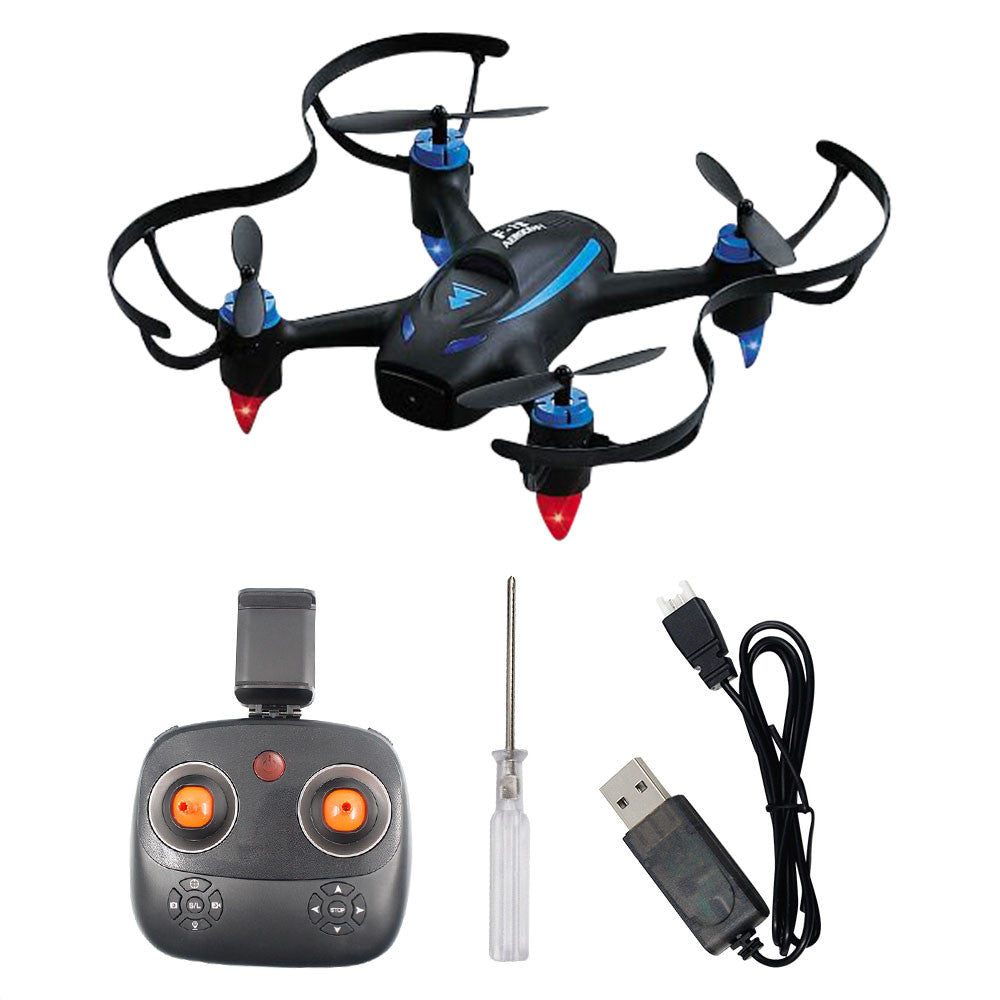 Drone Quadcopter High Performance One Key Landing 360 Degree Rolling Aircraft UAV 2.0MP ABS Wireless LED Lighting