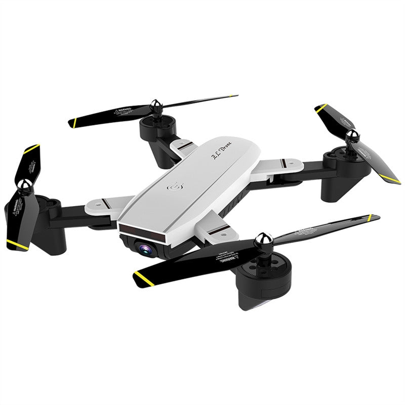 SG700-S Mini Drone Foldable Pocket Quadcopter Selfie Drone Wi-Fi Control Dual Optical Flow Cameras G-sensor Altitude Hold One-key Return Helicopter Toy (White,1080P)
