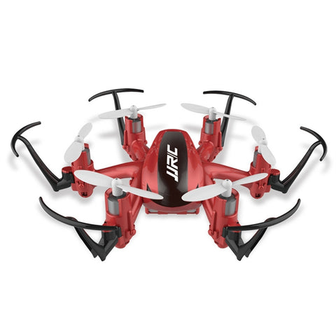 Mini RC Drone 2.4GHz 4CH 6 Axis Quadcopter Drop-resistant Remote Control Drone Aircraft Headless Mode One Key Return (Red)