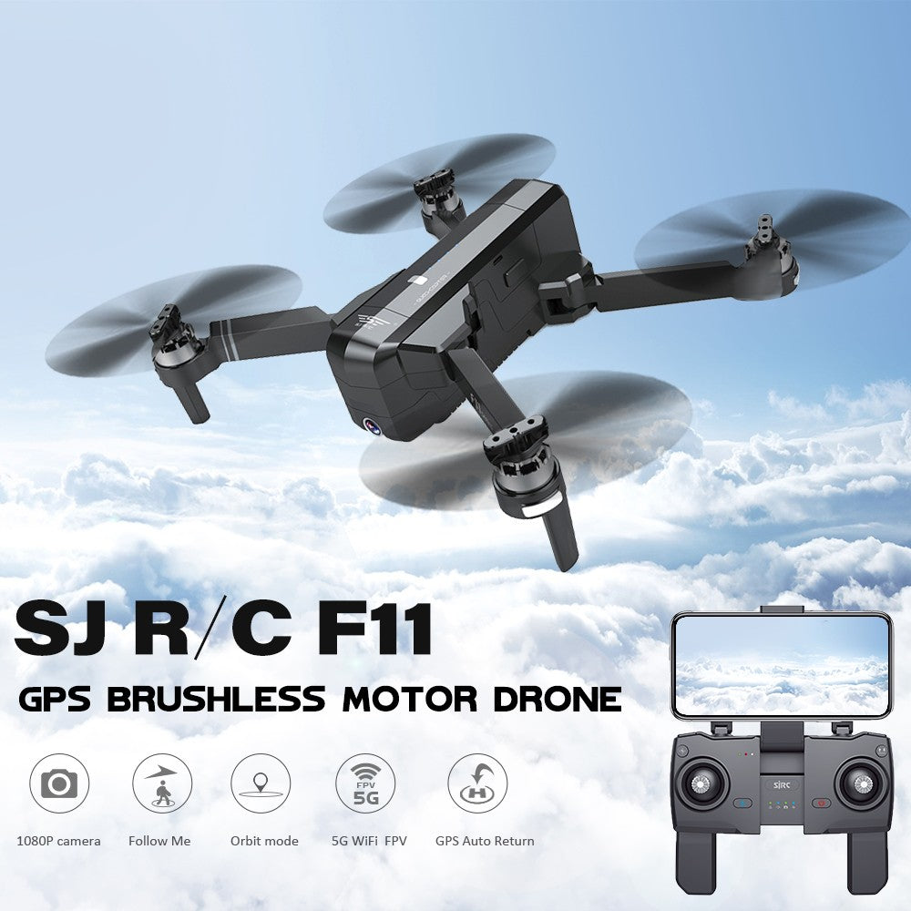 SJ R/C F11 5G Wifi FPV GPS Brushless Drone with Camera 1080P 120° Wide Angle Selfie Follow Me RC Quadcopter