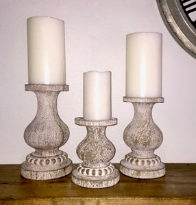 Candleholders Set of 3