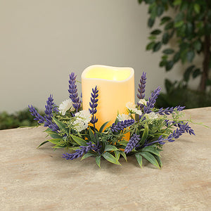 Lavender Candle Ring